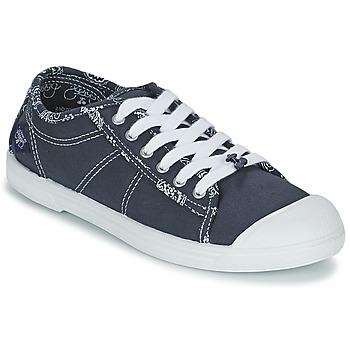 Schuhe Damen Sneaker Low Le Temps des Cerises BASIC 02 Blau