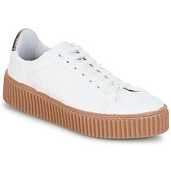 Schuhe Damen Sneaker Low Le Temps des Cerises TALYS Weiss