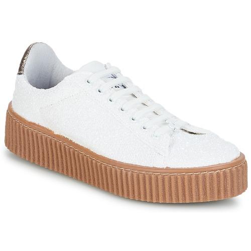 Le Temps des Cerises TALYS Weiss Schuhe Sneaker Low Damen 42,50