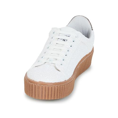 Le Schuhe Temps des Cerises TALYS Weiss  Schuhe Le Sneaker Low Damen 50,99 27eed5