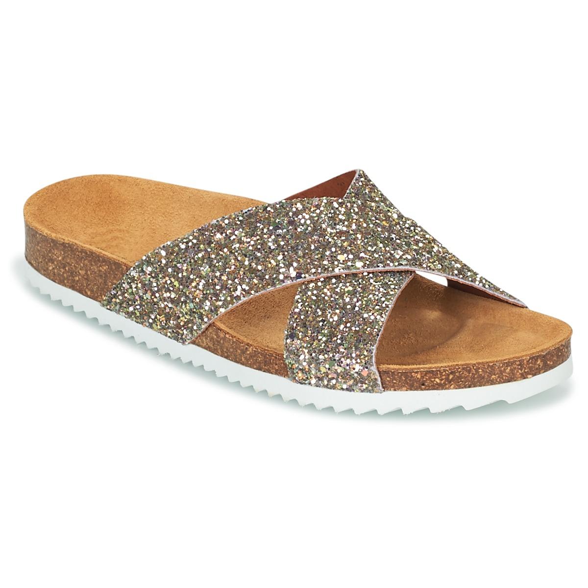 Le Temps des Cerises FALONE Glitterfarbe - Kostenloser Versand bei Spartoode ! - Schuhe Pantoffel Damen 41,29 €