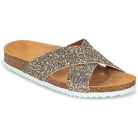Schuhe Damen Pantoffel Le Temps des Cerises FALONE Glitterfarbe