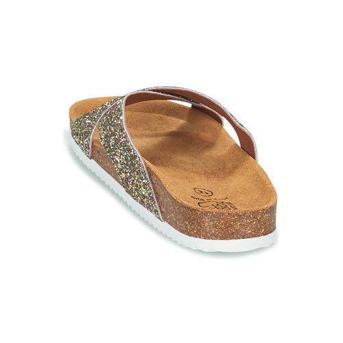 Le Temps des des des Cerises FALONE Glitterfarbe  Schuhe Pantoffel Damen 9ce7df