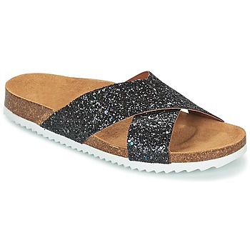 Schuhe Damen Pantoffel Le Temps des Cerises FALONE Schwarz