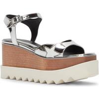 Schuhe Damen Sandalen / Sandaletten Stella Mc Cartney 453590 W0ZR5 8171 argento