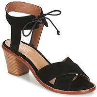 Schuhe Damen Sandalen / Sandaletten Casual Attitude ITELO Schwarz