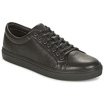 Schuhe Herren Sneaker Low Casual Attitude IZOBA Schwarz
