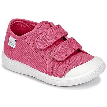 Schuhe Mädchen Sneaker Low Citrouille et Compagnie GLASSIA Rose