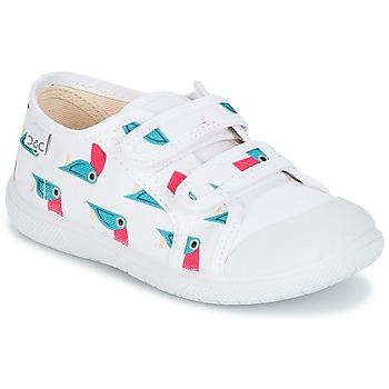 Schuhe Kinder Sneaker Low Citrouille et Compagnie GLASSIA Weiss