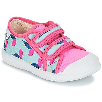 Schuhe Mädchen Sneaker Low Citrouille et Compagnie GLASSIA Multicolor