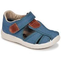 Schuhe Jungen Sandalen / Sandaletten Citrouille et Compagnie GUNCAL Blau