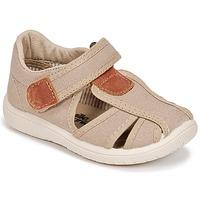 Schuhe Jungen Sandalen / Sandaletten Citrouille et Compagnie GUNCAL Beige