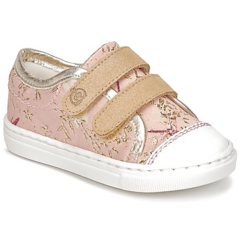 Schuhe Mädchen Sneaker Low Citrouille et Compagnie INACUFI Rose / Gold