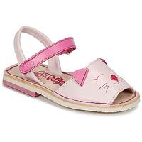 Schuhe Mädchen Sandalen / Sandaletten Citrouille et Compagnie ILOUDFI Rose