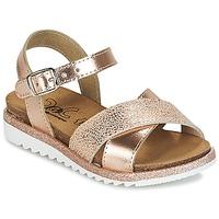 Schuhe Mädchen Sandalen / Sandaletten Citrouille et Compagnie GAUFRETTE Bronze