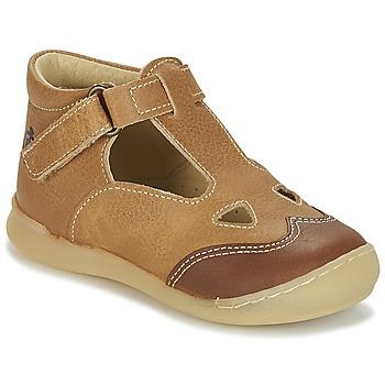 Schuhe Jungen Sandalen / Sandaletten Citrouille et Compagnie IARTIALAN Braun