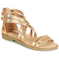 Schuhe Mädchen Sandalen / Sandaletten Citrouille et Compagnie IMOURAT Gold