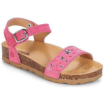 Schuhe Mädchen Sandalen / Sandaletten Citrouille et Compagnie IHITO Rose