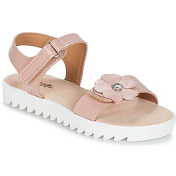 Schuhe Mädchen Sandalen / Sandaletten Citrouille et Compagnie ILODO Rose