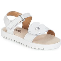 Schuhe Mädchen Sandalen / Sandaletten Citrouille et Compagnie ILODO Weiss