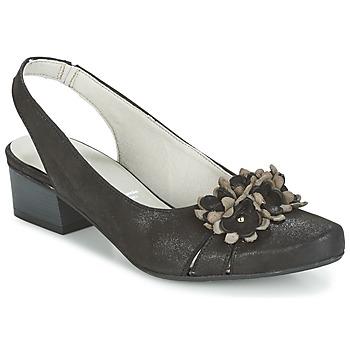 Schuhe Damen Sandalen / Sandaletten Dorking TUCAN Schwarz
