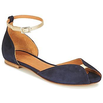 Schuhe Damen Sandalen / Sandaletten Emma Go JULIETTE Marine / Gold