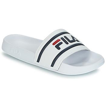 Schuhe Herren Pantoletten Fila MORRO BAY SLIPPER Weiss