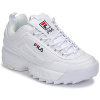 Schuhe Damen Sneaker Low Fila DISRUPTOR LOW WMN Weiss