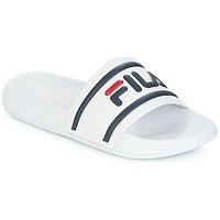 Schuhe Damen Pantoletten Fila MORRO BAY SLIPPER WMN Weiss