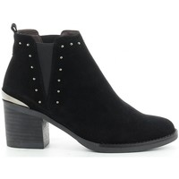 Schuhe Damen Low Boots Kissia 135 Noir