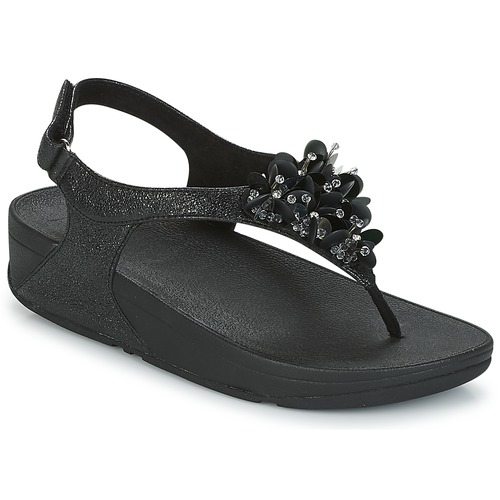 FitFlop BOOGALOO BACK STRAP SANDAL Schwarz  Schuhe Sandalen / Sandaletten Damen 92