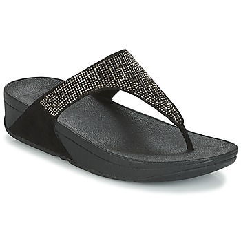 Schuhe Damen Zehensandalen FitFlop SLINKY ROKKIT Schwarz