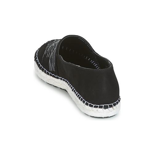 Kenzo KUMI ESPADRILLE Schwarz Damen  Schuhe Leinen-Pantoletten mit gefloch Damen Schwarz 171,50 8383c4