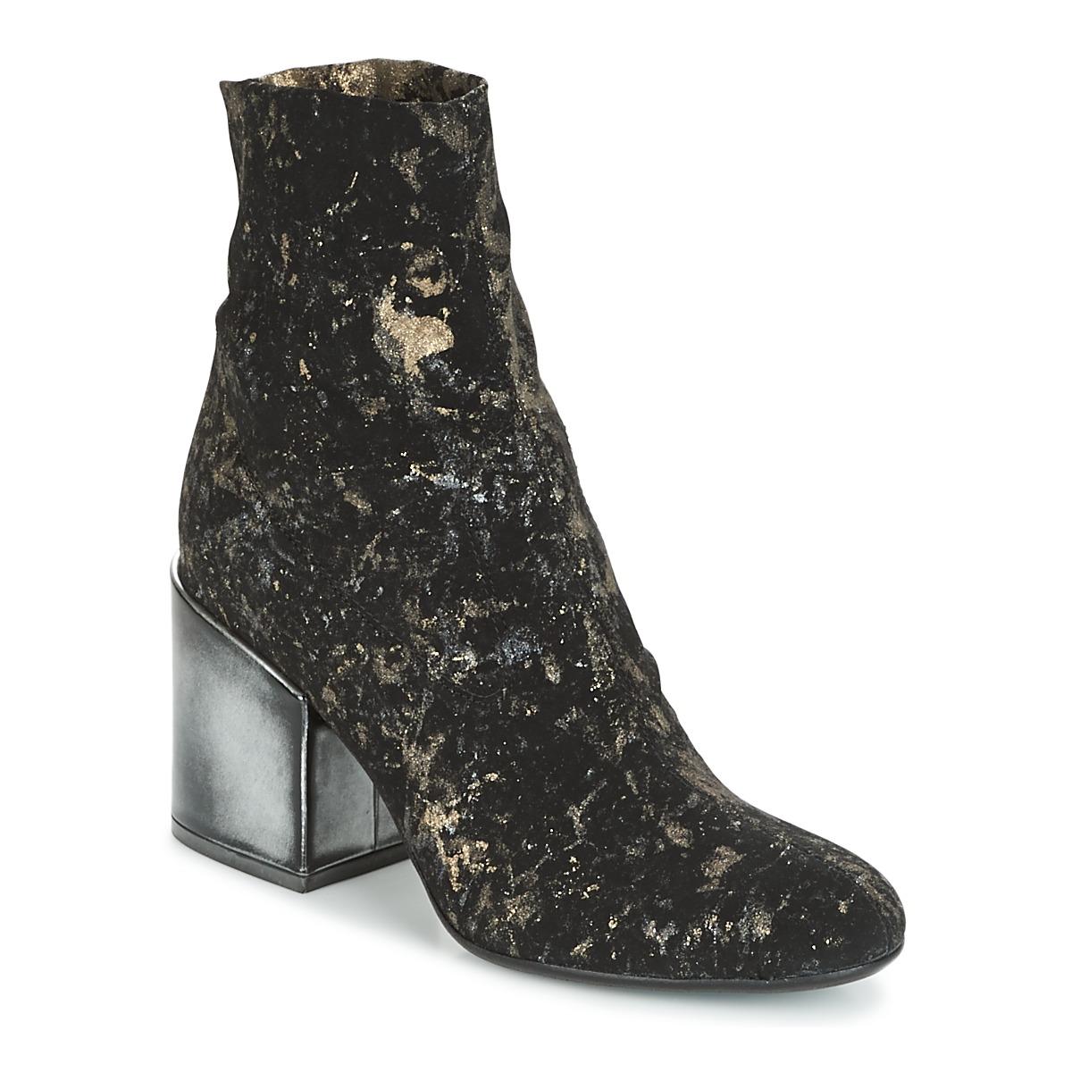 Now LUNA Schwarz - Kostenloser Versand bei Spartoode ! - Schuhe Low Boots Damen 161,40 €