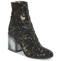 Schuhe Damen Low Boots Now LUNA Schwarz