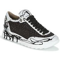 Schuhe Damen Sneaker Low Now CARK Schwarz / Weiss