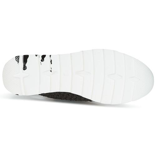 Now CARK Schwarz / Weiss  Schuhe Sneaker Low Damen 204