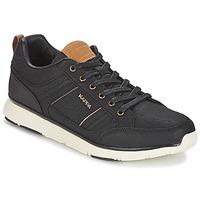 Schuhe Herren Sneaker Low Kappa SIMEHUS Schwarz