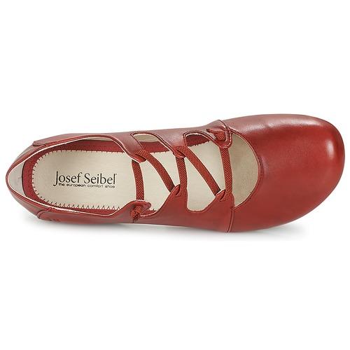 Josef Seibel FIONA 04 Damen Rot  Schuhe Ballerinas Damen 04 63,96 6d6965