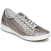 Schuhe Damen Sneaker Low Josef Seibel SINA 11 Silbern