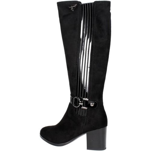 Laura Biagiotti 2200 Stiefel Damen Schwarz Schwarz