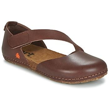 Schuhe Damen Ballerinas Art CRETA 442 Braun