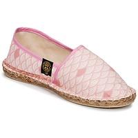 Schuhe Damen Leinen-Pantoletten mit gefloch Art of Soule KAMAKURA Rose