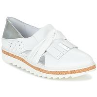 Schuhe Damen Slipper Regard RASTAFA Weiss / Silbern