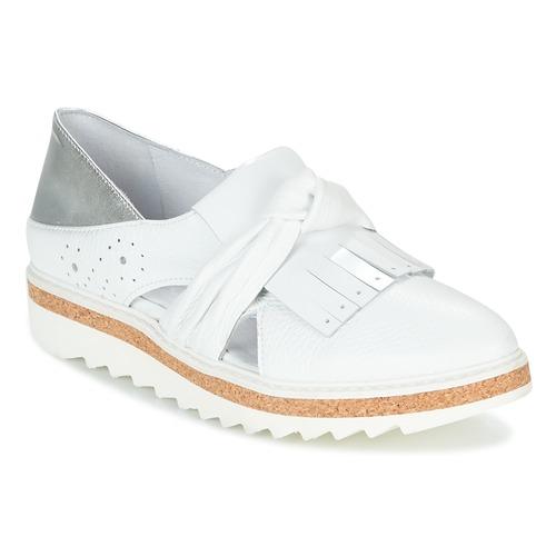 Regard RASTAFA Weiss / Silbern  Schuhe Slipper Damen 83,40