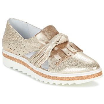 Schuhe Damen Slipper Regard RASTAFA Goldfarben