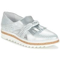 Schuhe Damen Slipper Regard RASTAFA Silbern