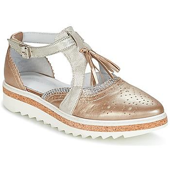 Schuhe Damen Derby-Schuhe Regard RASTANU Bronze
