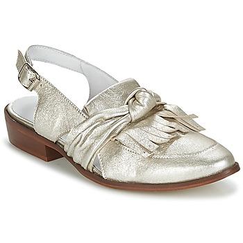 Schuhe Damen Slipper Regard RELABI Goldfarben