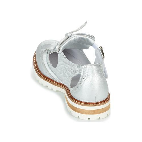 Regard RETAZO Weiss / Silbern  Schuhe Derby-Schuhe Damen 111,20